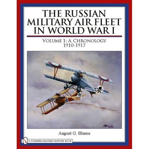 The Russian Military Air Fleet in World War I, Vol.1