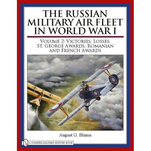 The Russian Military Air Fleet in World War I, Vol.2