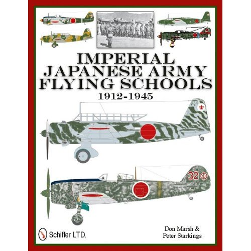 Imperial Japanese Army Flying Schools 1912-1945