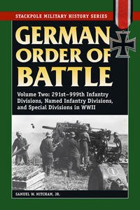 German Order of Battle: Volume 2