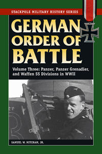 German Order of Battle: Volume 3