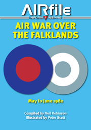 Air War over the Falklands: May to June 1982