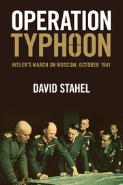 Operation Typhoon: Hitler's March on Moscow, October 1941