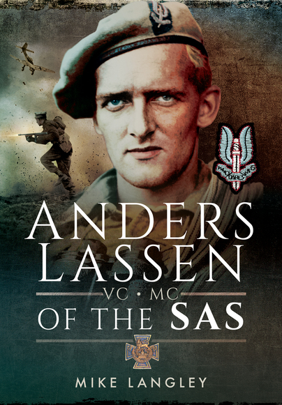 Anders Lassen VC, MC of the SAS