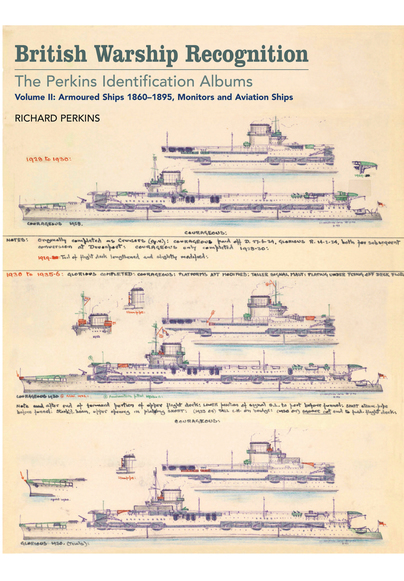 British Warship Recognition: The Perkins Identification Albums 2