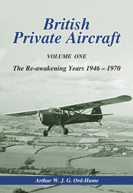 British Private Aircraft, vol. 1