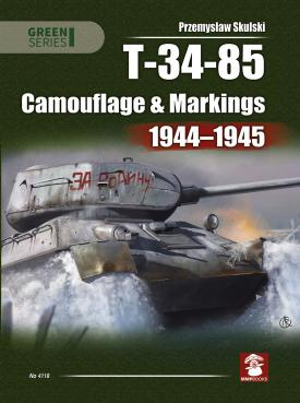 T-34-85. Camouflage & Markings 1944-1945