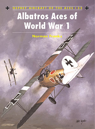 Albatros Aces of World War 1, pt.1