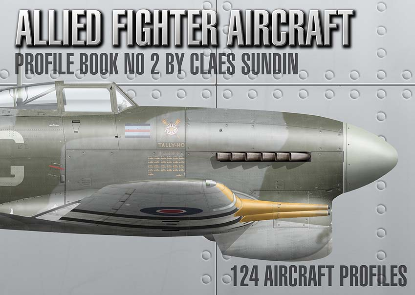 ALLIED FIGHTER AIRCRAFT: Profile Book 2
