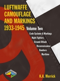 LUFTWAFFE CAMOUFLAGE & MARKINGS 1933-1945 Volume 2