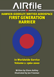 Hawker-Siddeley / British Aerospace First Generation Harrier