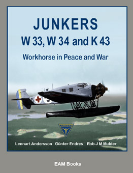 The Junkers W 33, W 34 and K 43